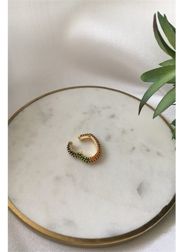 My Joyas Design Bijuteri Kıkırdak Küpe Gümüş